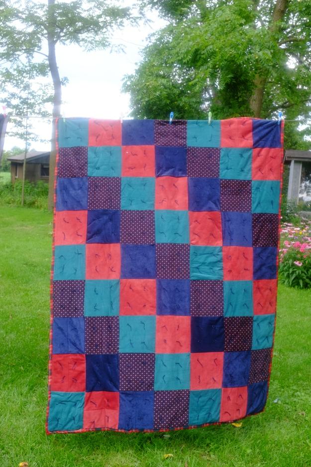 Tied Corduroy comforter #5